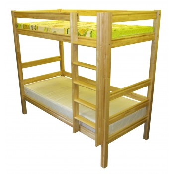 Bērza divstāvu gulta 2ST-A