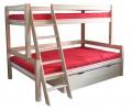 Bērza divstāvu gulta 3ST-XL