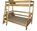 Bērza divstāvu gulta 3ST-XL-A