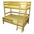 Bērza divstāvu gulta 3ST-XL-A**