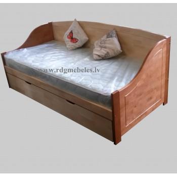 Bērza gulta 1ST-T-2