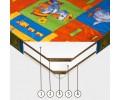 Porolona matracis ar Kokosu 90x200 (1+9+1)
