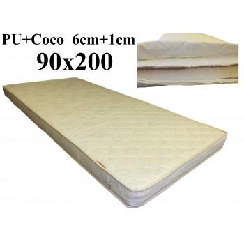 Porolona matracis ar Kokosu 90x200 (6+1) M-2