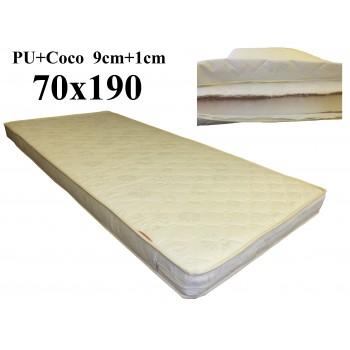 Porolona matracis ar Kokosu 70x190 (9+1) A