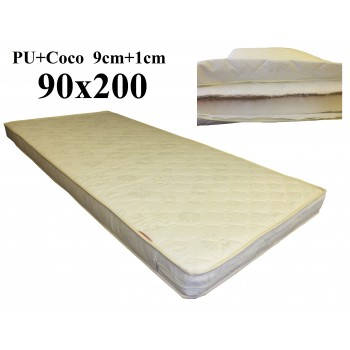 Porolona matracis ar Kokosu 90x200 (9+1) A