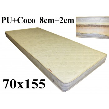 Porolona matracis ar Kokosu 70x155 (8+2) A