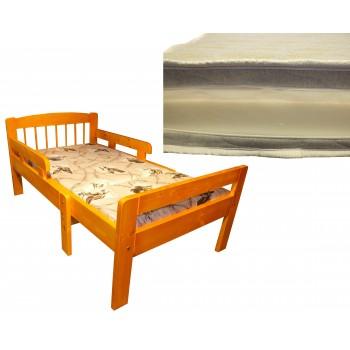 Pagarināmā gulta LINDEN 5011-M ar matraci PU